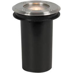 Photo of Außenleuchte BodenDeckenspot / Deckenstrahler / Spot rund Rvs 11 cm – Basic Round Modern Gu10 QazqaQ