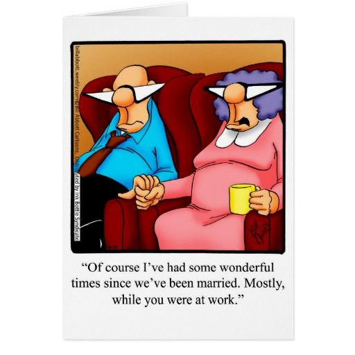 anniversary humor greeting card for him  zazzle