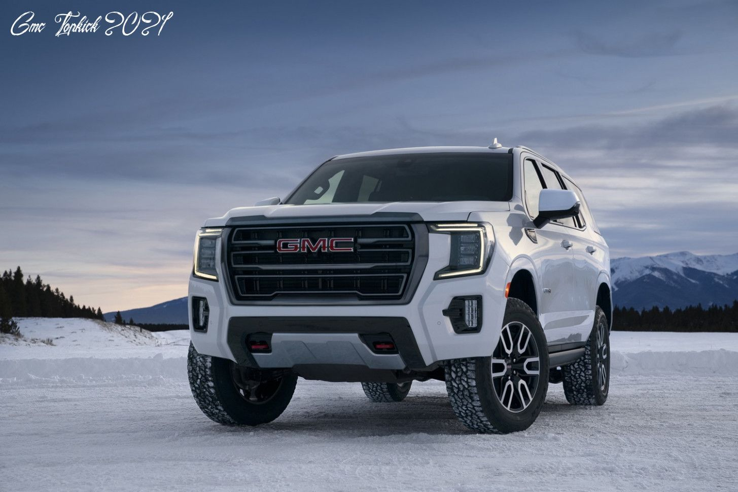 Gmc Topkick 2021 Model In 2020 Gmc Yukon Suv Gmc