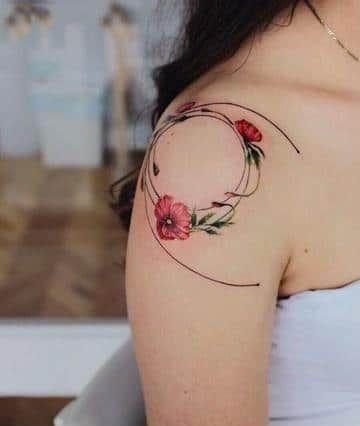 Tatuajes En Los Hombros Para Mujer