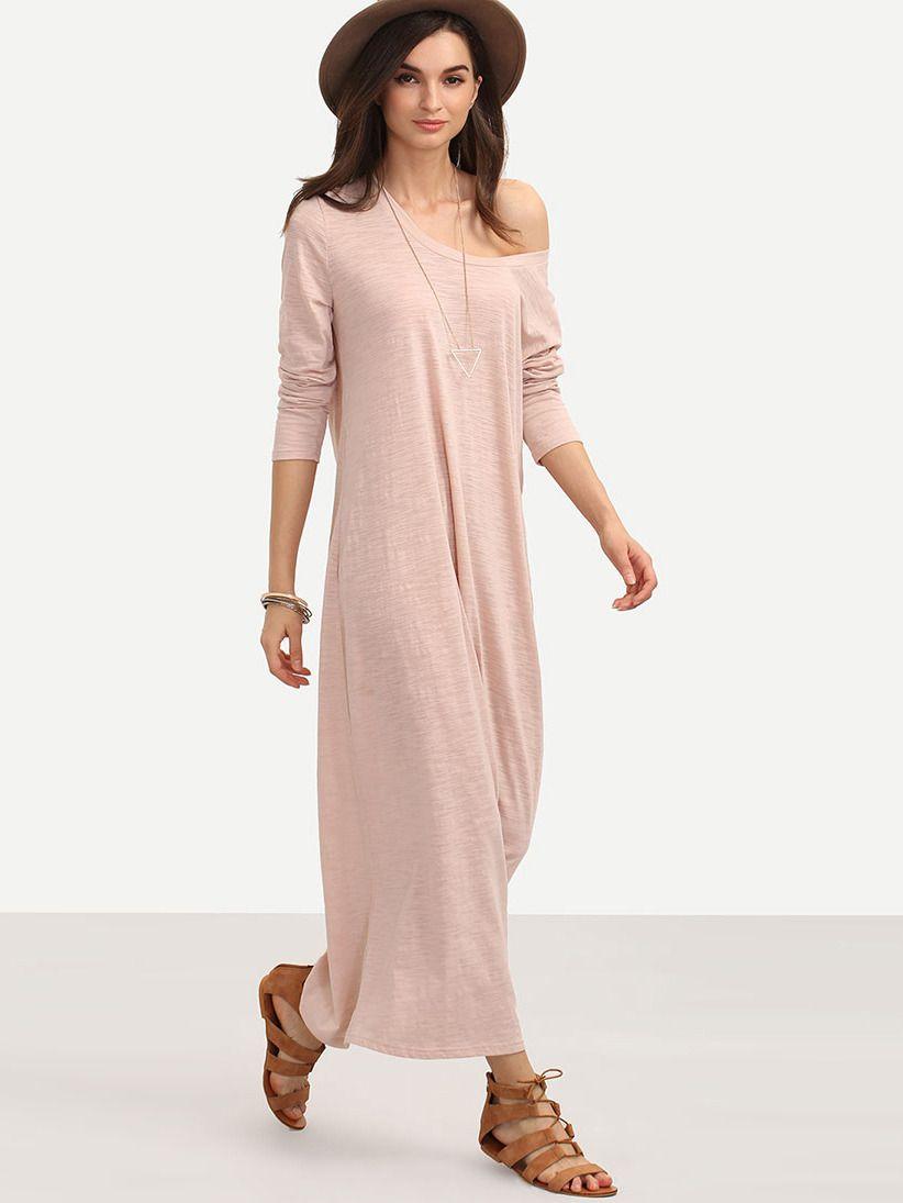 Falda de tubo casual manga larga - rosa | Falda de tubo, Verano ...