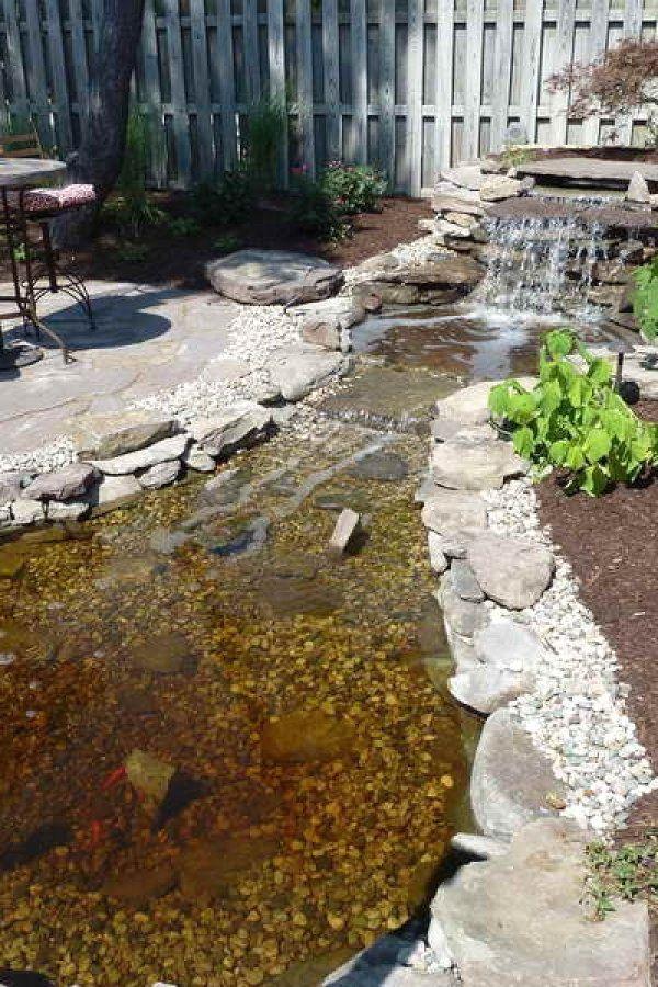 #landscaping #garden_pond #complement #landscape #koi_pond ...