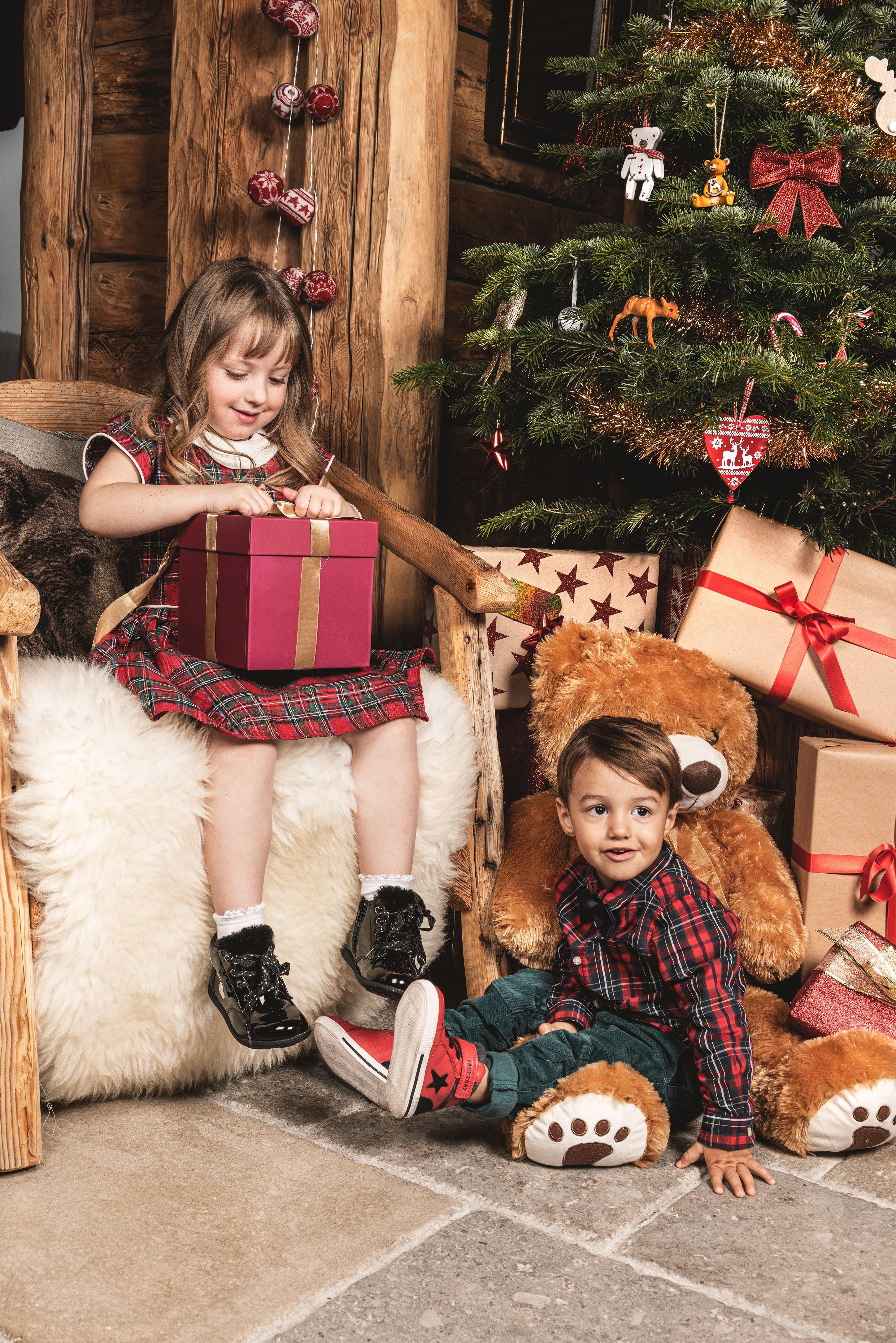 look chalet christmas trend