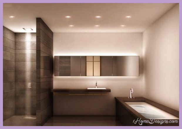 Cool Bathroom Lighting 1home Designs Modern