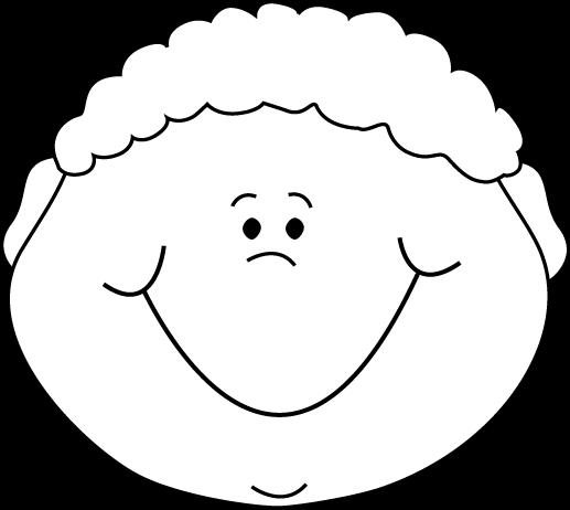 black and white little boy happy cartoon face sablonok pinterest