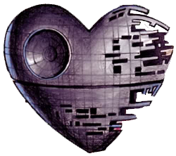 For Your Star Wars Valentine Next Year Awww I Death Star You Star Wars Tattoo Death Star Tattoo Star Wars Valentines