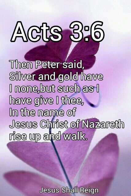 Silver And Gold Have I None Kjv : silver, Names, Jesus, Christ,, Jesus,, Bible, Prayers