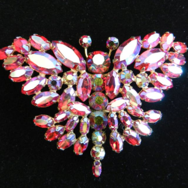 Antique Sherman Brooch Made In Canada Worth A Fortune Check Grannies Jewe Rhinestone Costume Jewelry Vintage Costume Jewelry Vintage Rhinestone Jewelry