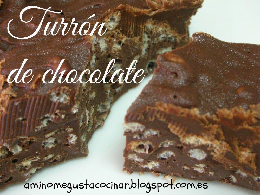 Receta muy f cil de turr n de chocolate casero para - Que cocinar en navidad facil ...