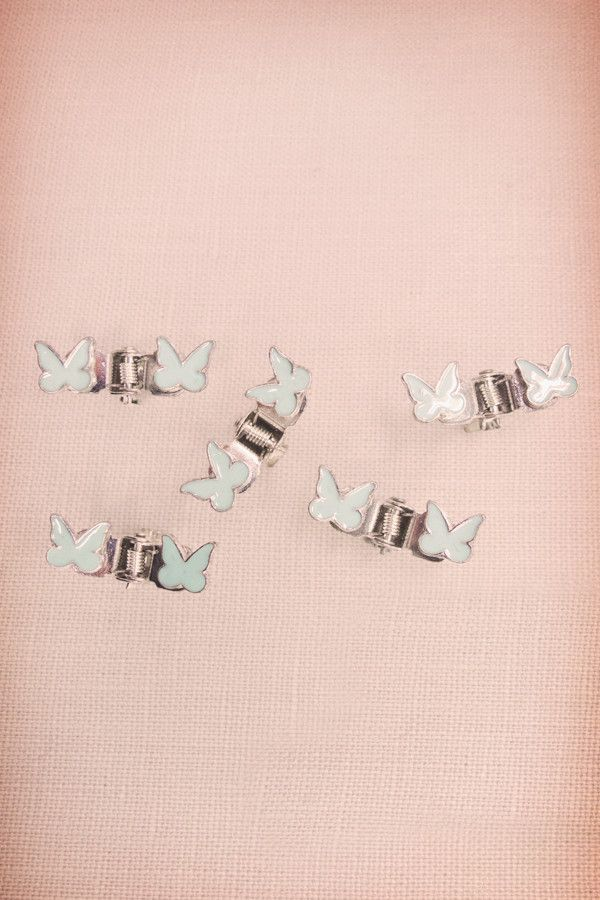 Pastel Matte Mini Butterfly Jaws