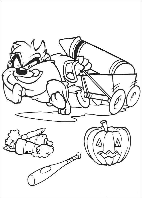 Baby Looney Tunes Ausmalbilder 80   Ausmalbilder für kinder ...