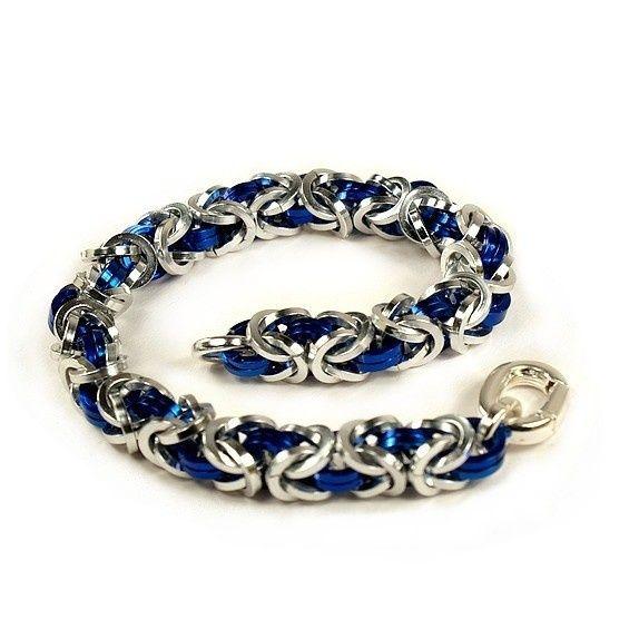 Kongelenke armbånd, sølv