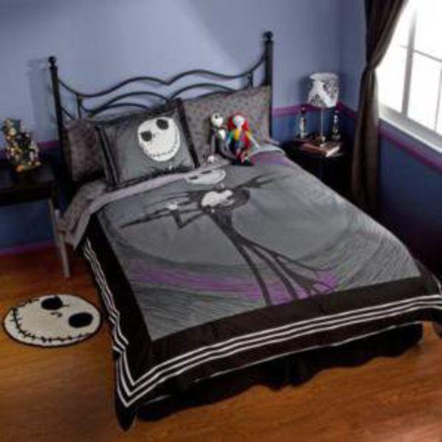 Jack Skellington Duvet Cover Nightmare Before Christmas Bedding Christmas Bedroom Christmas Room