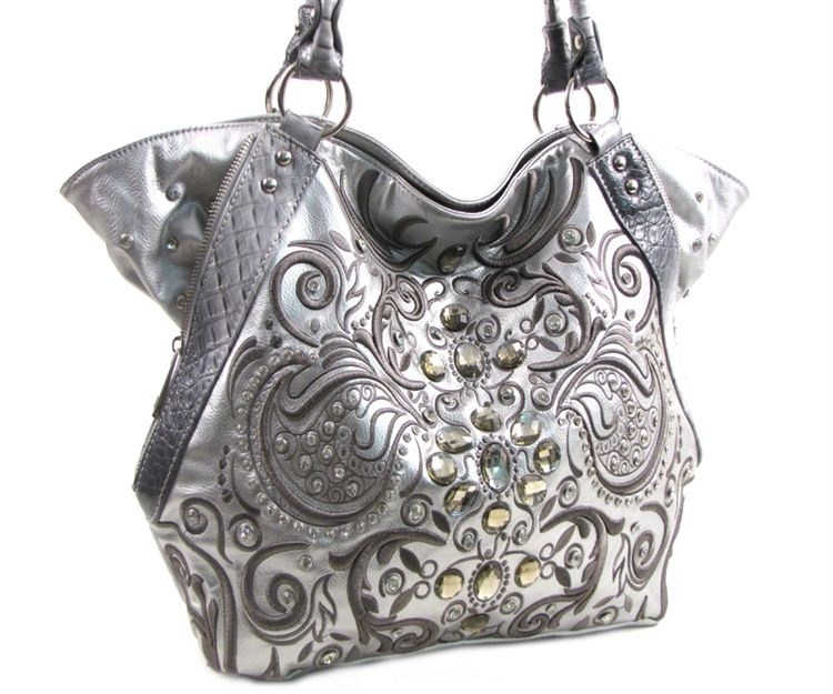 Bling Purses And Handbags Luxcessories Embroidery Pattern
