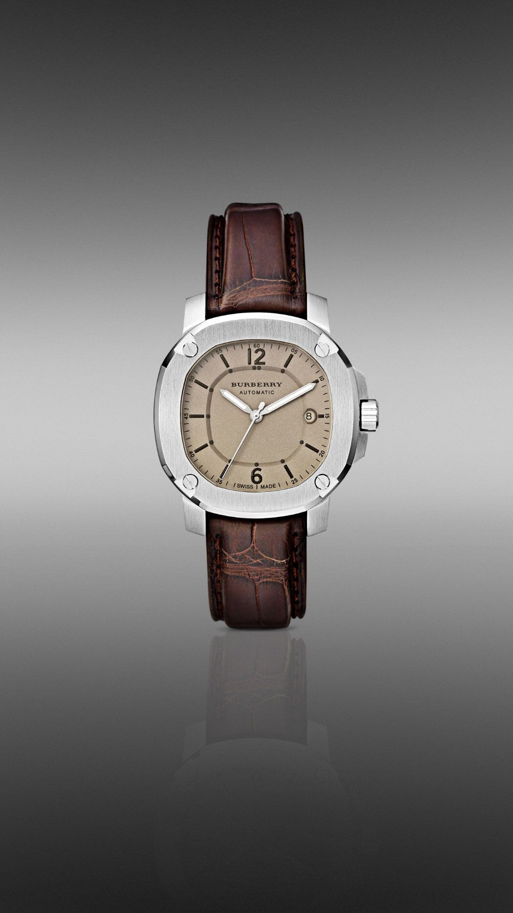 The Burberry Britain BBY1201 43MM Automatic