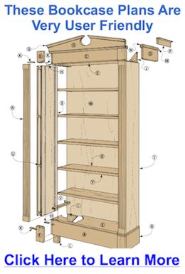 Bookcase Plans Bookcase plans Biscuits and a young helper Get our free bookcase plans Bookcase Plan Combo Pack Not all of the listings provide exact