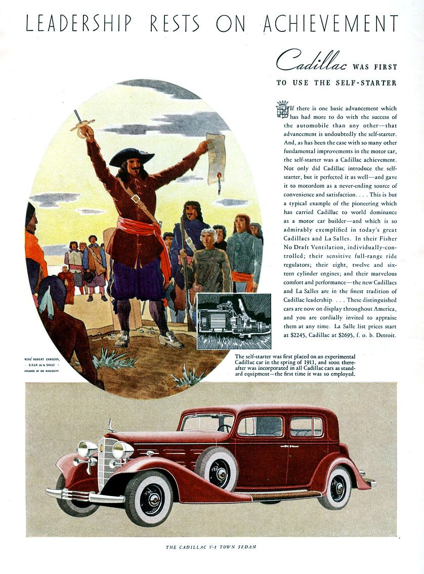 1934 Cadillac Brochures