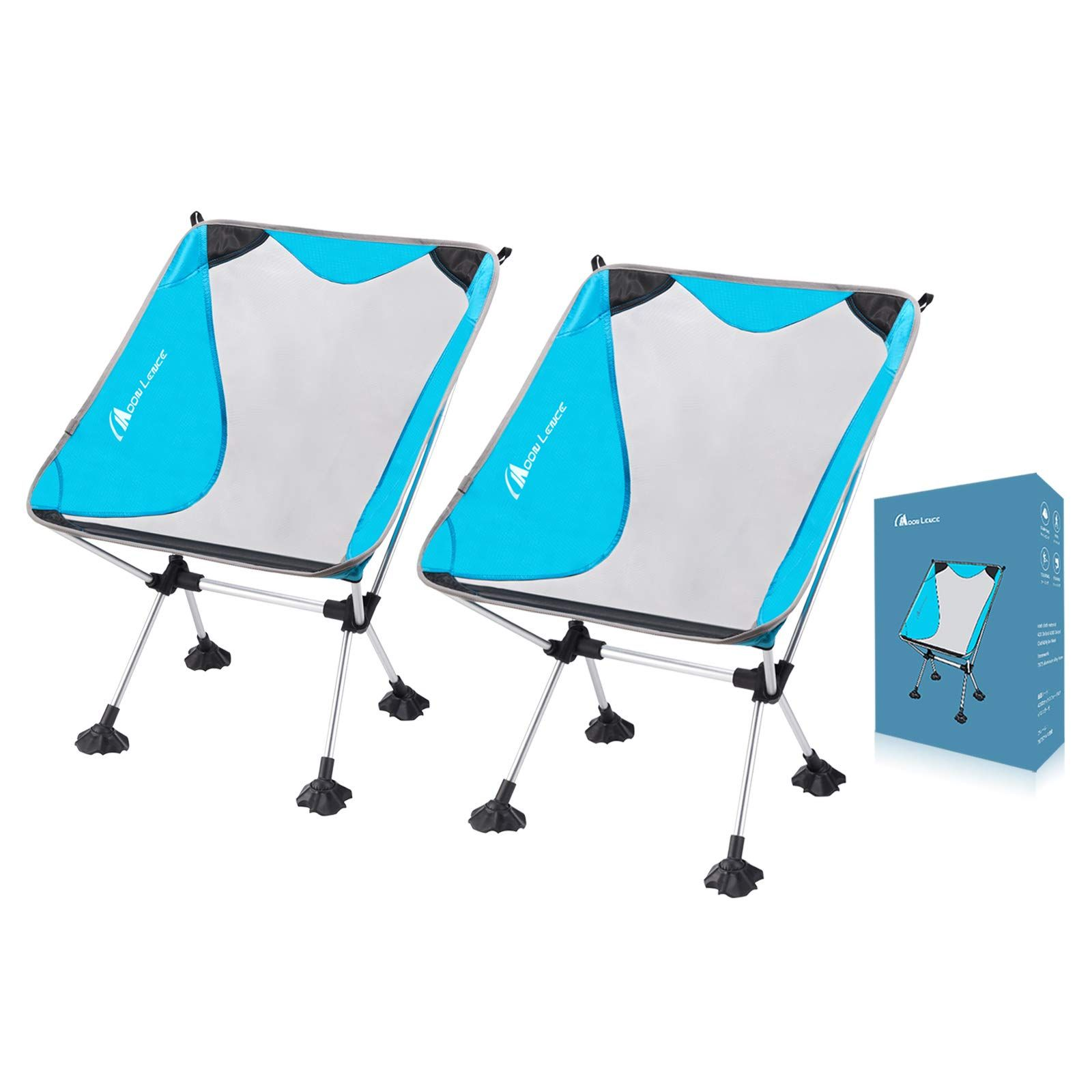 MOON LENCE Outdoor Ultralight Portable Folding Chairs with