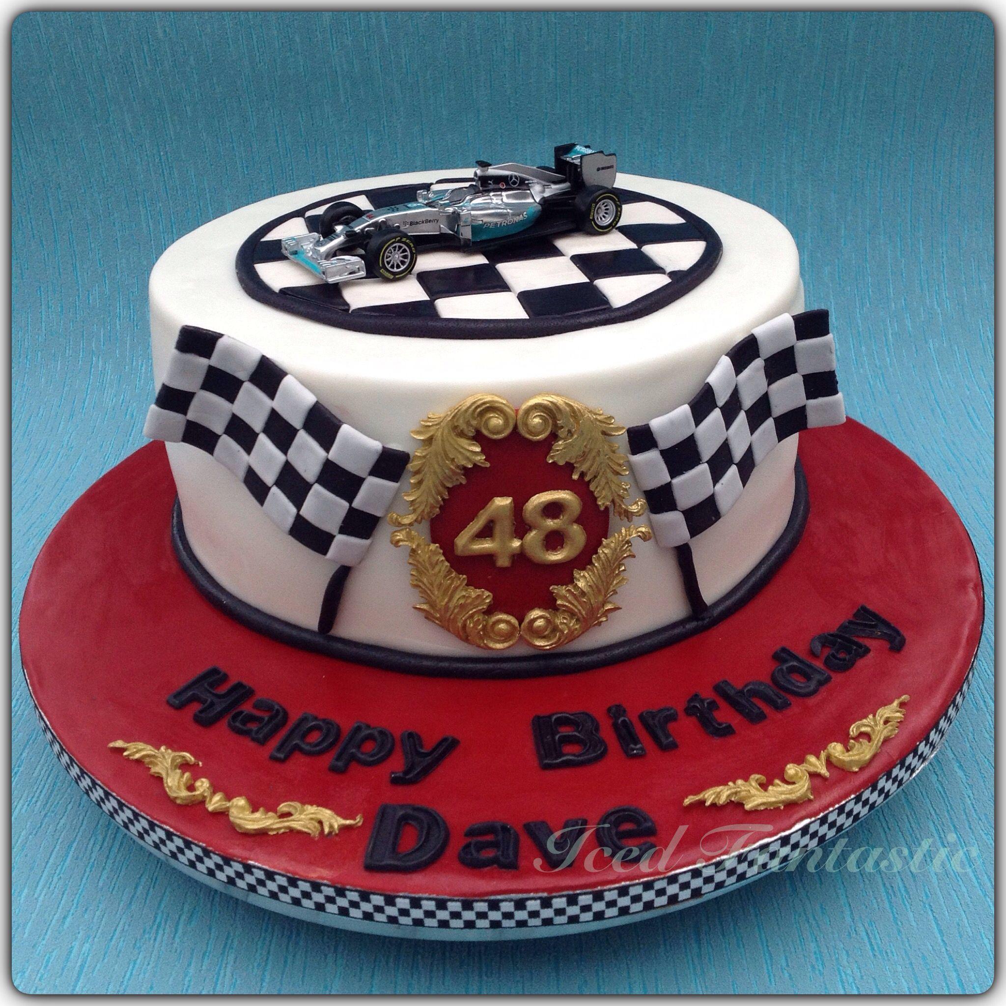 F1 Cake For Lewis Hamilton Fan
