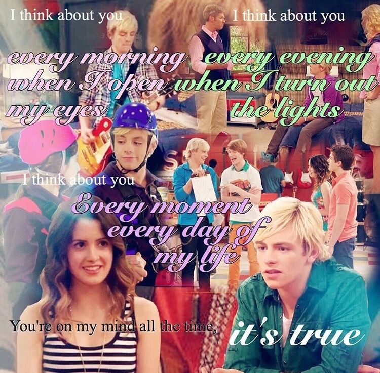 I Think About You You You You You Austin And Ally Baby Daddy Show Austin Ross