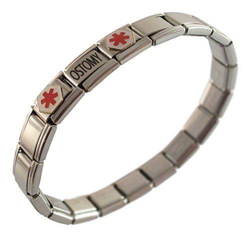 Taking Anticoagulants Medical Alert Stainless Steel Bracelet 31A4cAL