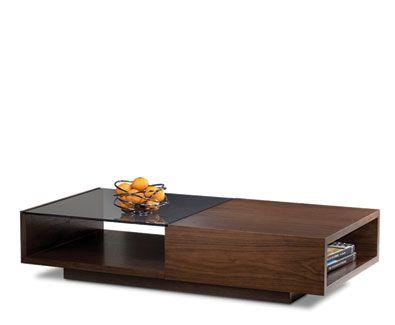 Xela Table 1141 Bdi Usa Chocolate Walnut Stain Downstairs