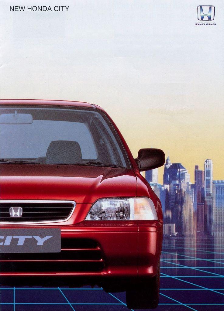 Honda City Mk3 Thailand Brochure 1996 | Honda city, Honda, Honda vtec