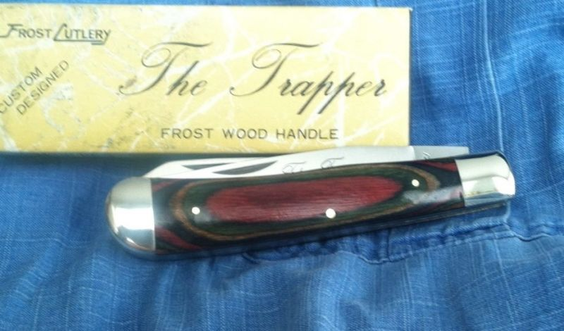 BLADE LIST - Knife, Sword, Blade FREE Classified ads: VINTAGE FROST TRAPPER, Custom Folders Custom Folder Classified Ads Listing Details