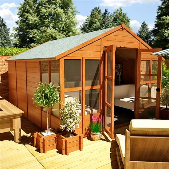 The BillyOh 4000 Tete a Tete Summerhouse Range | Favorite Places ...