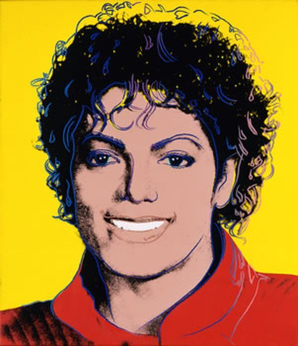 andy warhol michael jackson - Google Search