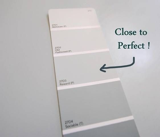 A Perfect Gray Blue Centsational Style True Grey Paint Color Blue Gray Paint Colors Blue Gray Paint