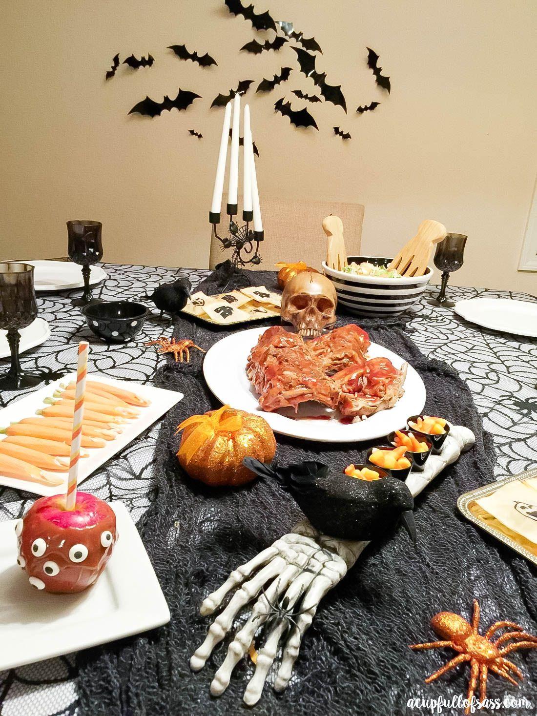Spooky Halloween Food Ideas A Cup Full Of Sass Halloween Food For Party Halloween Food Dinner Halloween Dinner