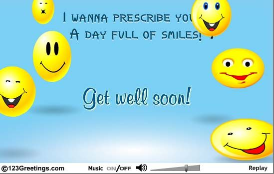 free+get+well+ecards of Smiles Free Get Well Soon eCards - free congratulation cards