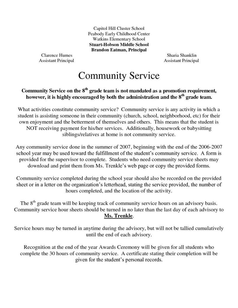 Letter Confirming Volunteer Hours from i.pinimg.com