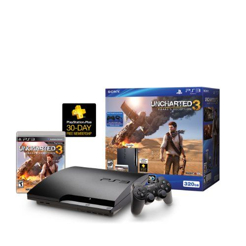 PlayStation 3 is the only gaming machine that delivers a complete high-definition entertainment system with a built-in Blu-ray player, hard drive, Wi-Fi, and full range multi-media capabilities. The input voltage is 120V. The PlayStation 3 Uncharted 3 Bundle brings you even more entertainment for just $299.99.