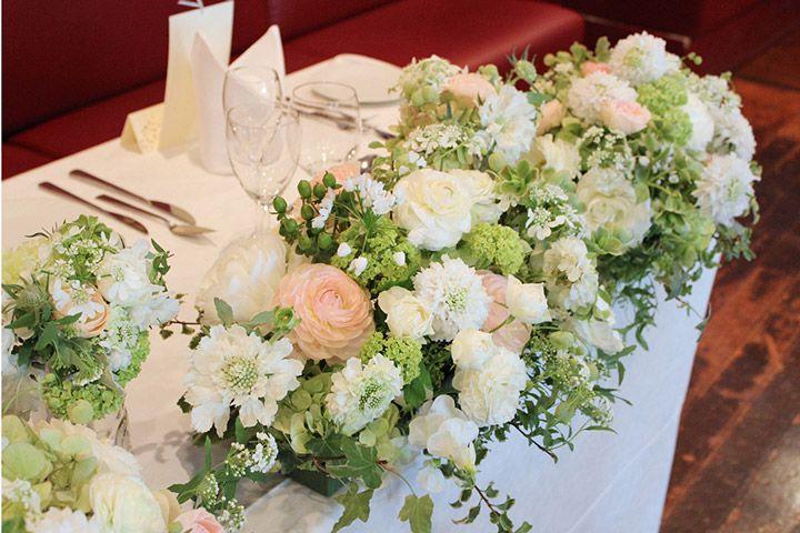 結婚式 テーブル 花 春 Khabarplanet Com