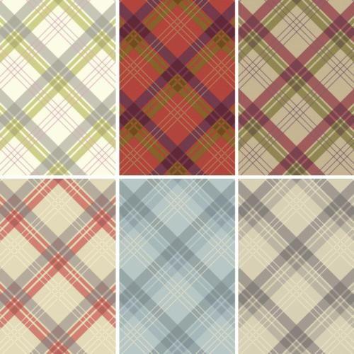 Arthouse vintage fairburn tartan motif à carreaux papier peint
