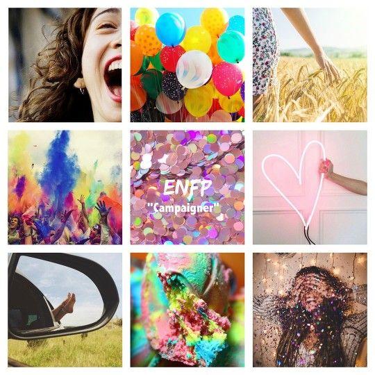 ENFP Aesthetics | Myers-Briggs Aesthetics | Pinterest | Enfp