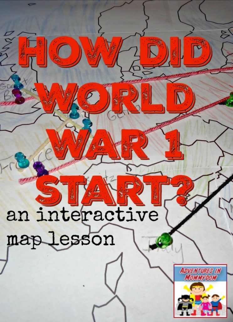 how did world war 1 start an