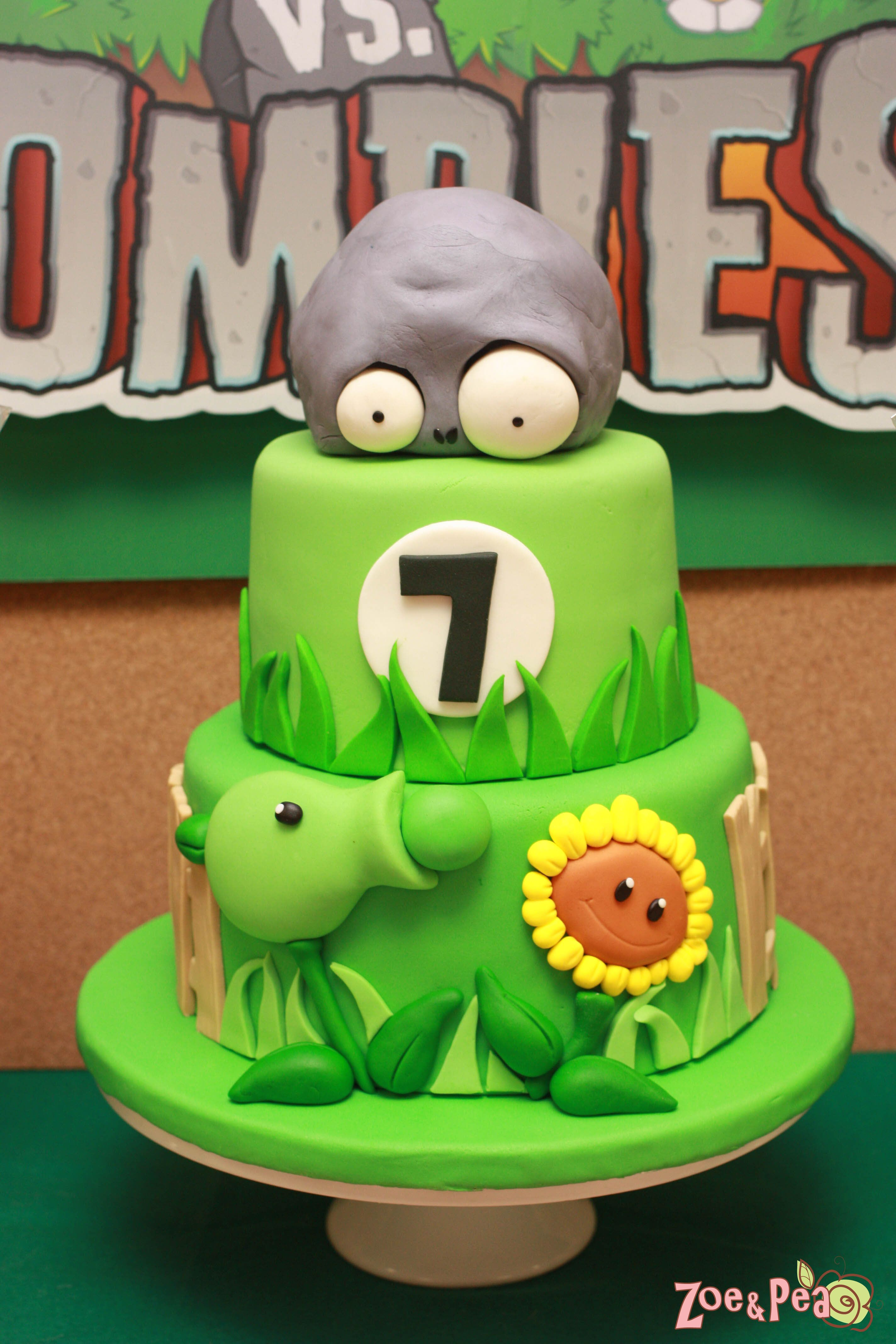 Plants Vs Zombies Birthday Kayden Pinterest Plants Vs