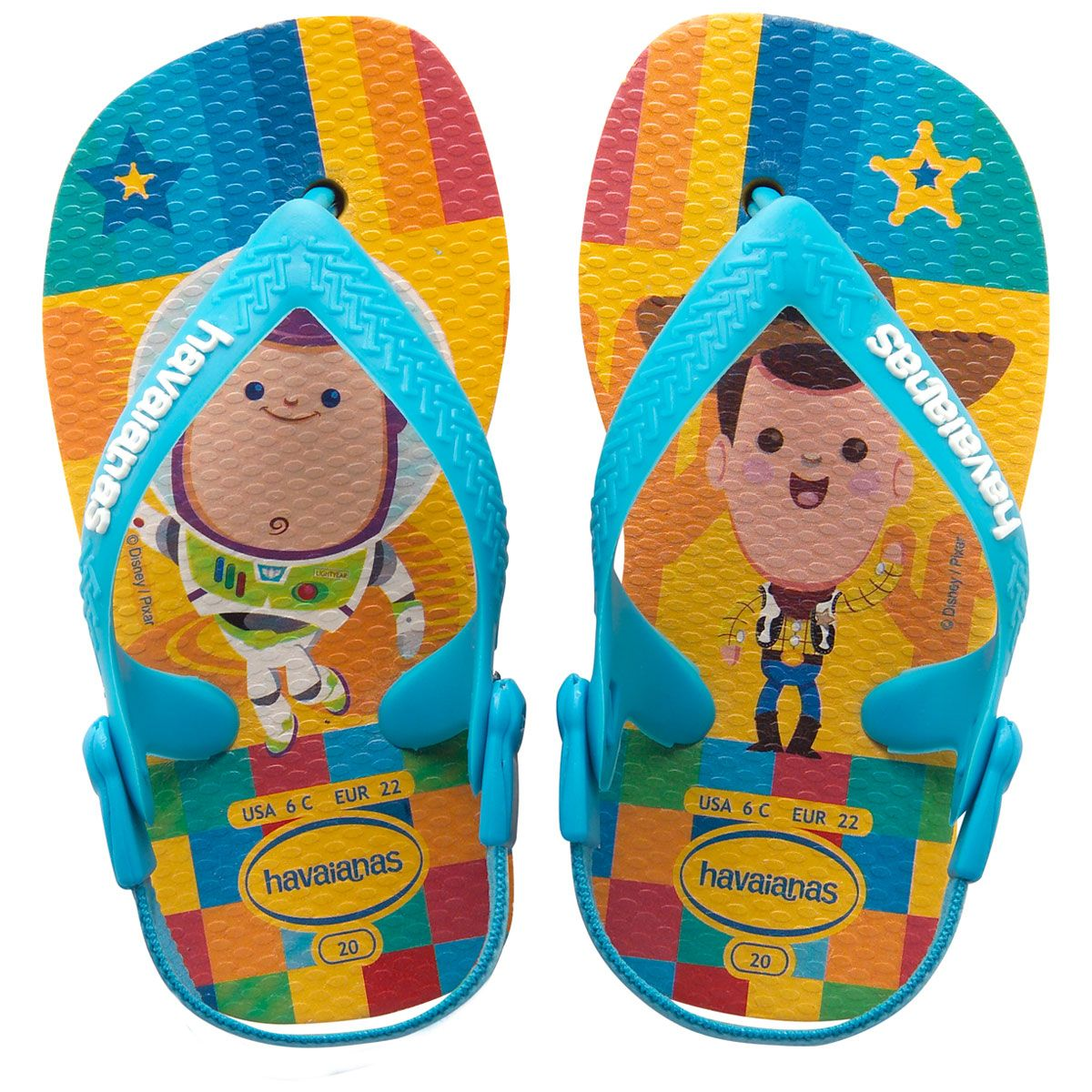 caec34380 Havaianas Baby Pixar - Havaianas My kawaii Toy Story art being put to good  use!