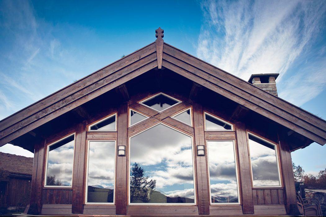 Fra bindingsverk til laftet drøm - Haukeli hytter og hus