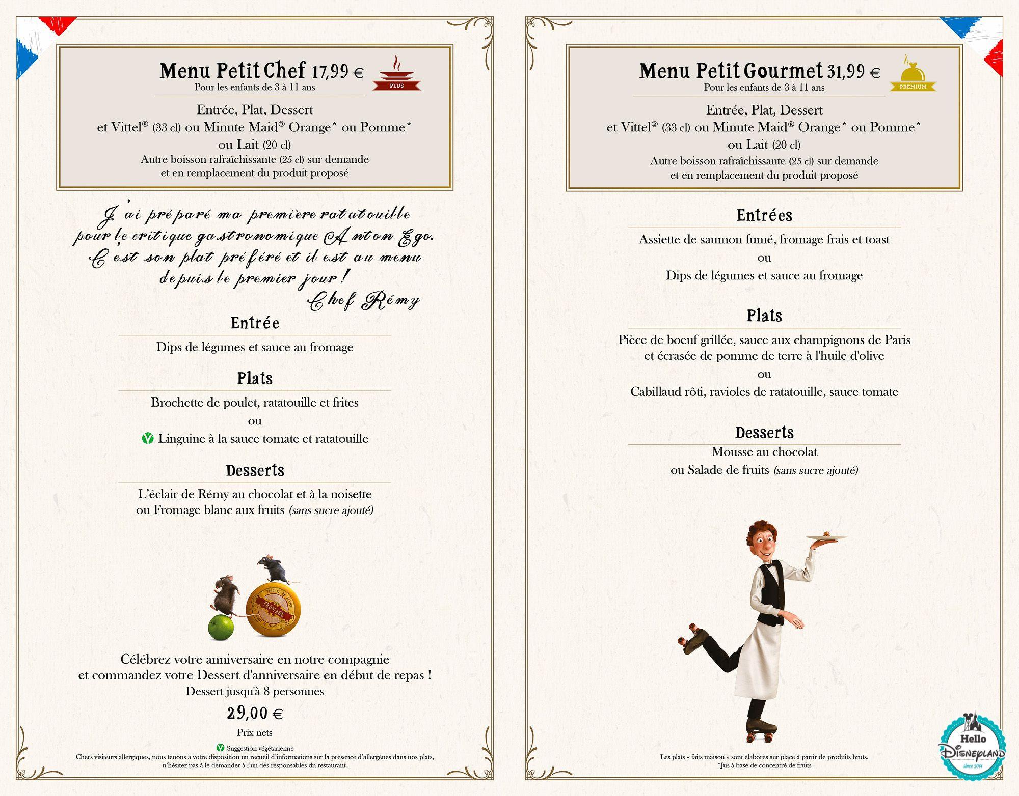 Restaurant Bocus Carte Des