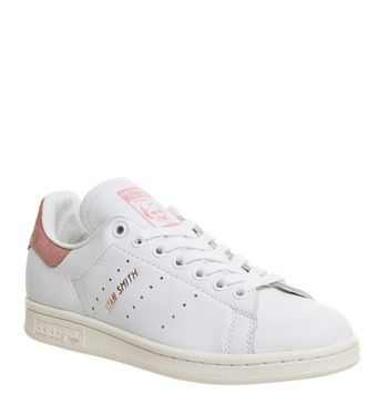 Adidas, Stan Smith, White Ray Pink Rose Gold Exclusive