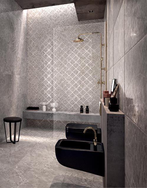 Grey Marble Bathroom #classic #modern #new #texture #glam