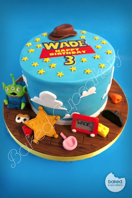 Toy Story Cake With Images Toy Story Birthday Cake Toy Story