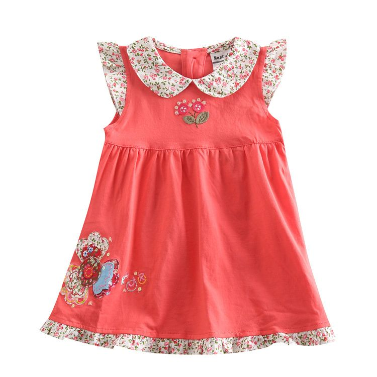 $15.99 (Buy here: http://appdeal.ru/7yyp ) girl dress children girls clothes dress for girls with beautiful flowers embroidery nova casual evening party dresses H4980 for just $15.99
