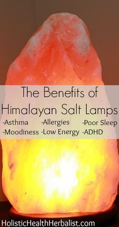 Himalayan Sea Salt Lamp Prepossessing The Benefits Of Himalayan Salt Lamps  Himalayan Salt Allergies And Decorating Inspiration
