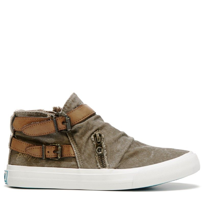 99a780b1dc1c Blowfish Women s Mondo High Top Sneakers (Whiskey Smoke)