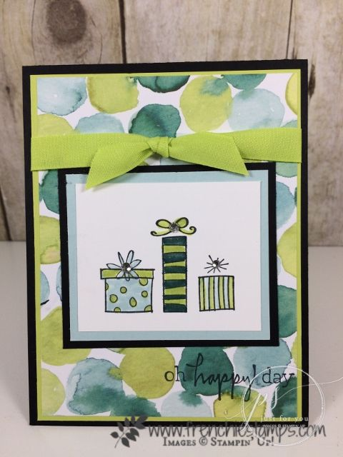 Happiest of days stampin up stamps and cards blog where youll find instruction how to create greeting cards 3 d favor and much more paper crafts frenchie independent stampinup demonstrator m4hsunfo